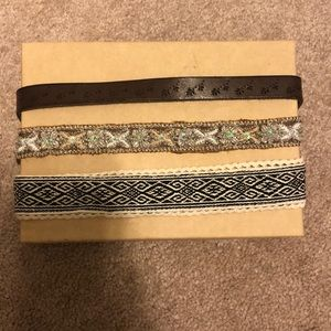 3 PACK OF AMERICAN EAGLE HEADBANDS